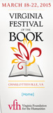Virginia Book Festival logo.