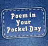 poem in your pocket day.